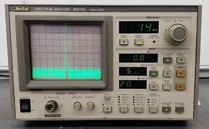 Anritsu Ms610a Spectrum Analyzer 10 Khz To 2 Ghz