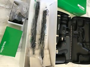 Welch Allyn 3 5v Panoptic Ophthalmoscope Otoscope Li ion Handle Set 97801 mc