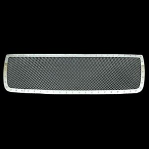 Fits 2010 2012 Dodge Ram 2500 3500 Grille Rivet Chrome Ss Wire Mesh Grill Insert