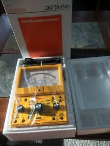 Simpson 260 8xpi Protected Analog Vom Brand New In Original Packaging