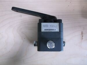 Enerpac Hydraulic Manual Directional Control Valve 3 way 3 position