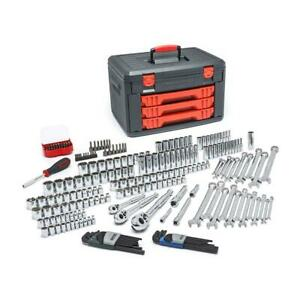 Gearwrench 80940 219 Piece Master Tool Set With Drawer Style Carry Case