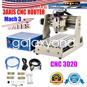 Usb 220v 3 Axis 3020t Cnc Router Engraving Machine Engraver Desktop Wood Carving