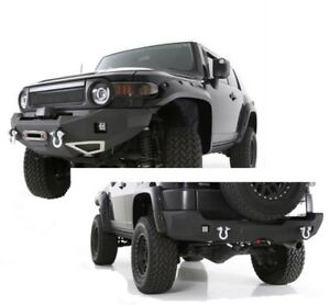 Smittybilt M1 Toyota Fj Cruiser Winch Mount Front Rear Bumpers 612850 614850