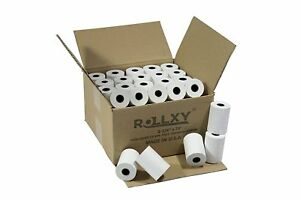 100 Rolls Of Thermal Paper 2 1 4 By 70 Verifone Vx520 First Data Fd400 Nurit