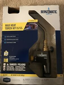 Bernzomatic Ts8000bzkc Premium Trigger start Torch Kit Ts8000bzkc