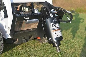 Bobcat Skid Steer Lowe Bp210 Auger Drive Post Hole Digger Unit Free Shipping