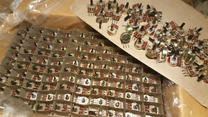 340 Case Lot Potentiometer 8k Ohm Pot Linear Taper Variable Resistor Pcb Mount