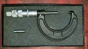 Vintage Central Tool Micrometer New In Box