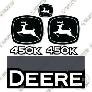 John Deere 450k Crawler Dozer Replacement Decals 450 K Equipment Decals 450 k