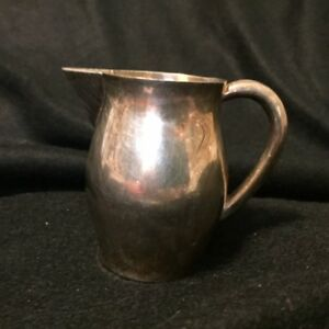 Reed And Barton Silver Pitcher Small Creamer Size Marked Excellent