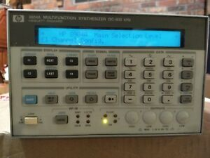 Hewlett Packard 8904a Synthesizer Dc 600khz