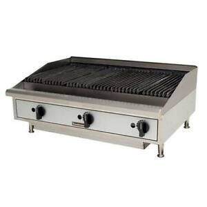 Toastmaster Tmrc36 36 Countertop Radiant Gas Charbroiler Grill