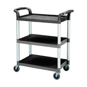 Cambro Bc331kd110 32 7 8 In X 16 1 4 In Black Service Cart