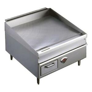 Wells Wg 2424g 24 Thermostatic Gas Griddle