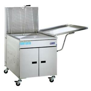 Pitco 24p 150 Lb Gas Donut Fryer W Mechanical Thermostat