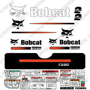 Bobcat T590 Compact Track Loader Decal Kit Skid Steer T 590 straight Stripes