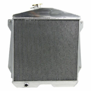 3 Row Aluminum Radiator For 1943 1948 Chevy Cars W Chevy Engine 3 5l 3 8l L6