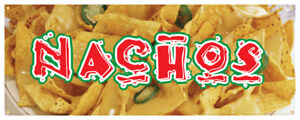 36 Nachos Sticker Cheese Chips Mexican Food Concession Stand Sign