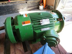 Reliance 20 Hp Electric Motor 1ma454258 G1 Dx 230 460v 256td 3510 Rpm Repaired