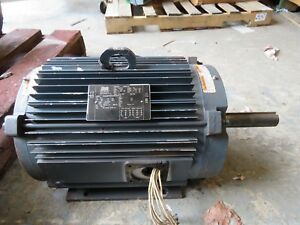 Lincoln 10 Hp Motor Lm30601aa 254tcvz 1165 Rpm 230 460v Used