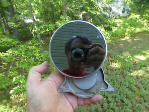 1957 Studebaker Side View Mirror 4 1 2 With Emblem 1955 1956 1958