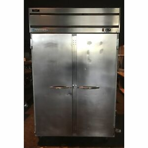 Beverage Air Commercial 2 Door Ss Reach In Freezer ba hf21s 10209639 u