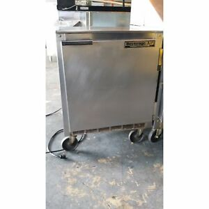 Beverage Air 1 Door S s Undercounter Refrigeration Used ba ucr27a 293095403 u
