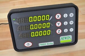 New Hiwin Pmed s3 3 Dro 3 axis Digital Readout Display Linear Scale Cnc Router