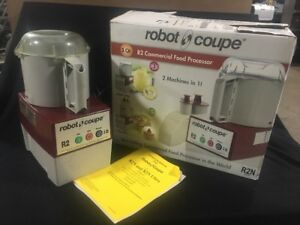 Robot Coupe R2 Food Processor Chopper Bowl Cutter Including Original Box Manual