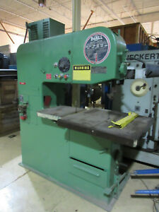 Doall 3613 20 36 Vertical Band Saw