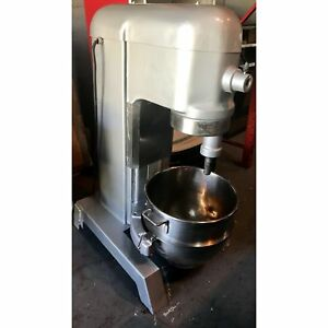 Hobart 60qt Mixer With Bowl And Attachments Used Hb h600 11083885 u