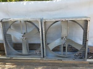 2 Airstream Agriculture Exhaust Fans