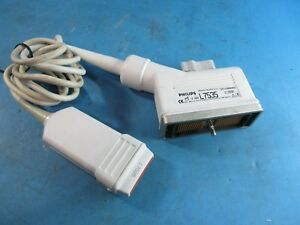 Agilient Philips Hp L7535 Linear Array Vascular Ultrasound Probe Used