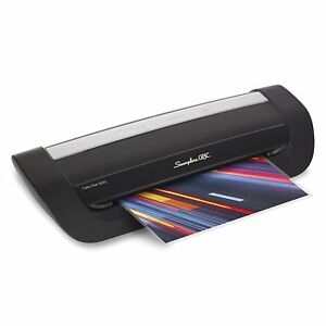 Swingline Gbc Laminator Fusion 6000l 12 Inch 1 Min Warm up 3 10 Mil With 50