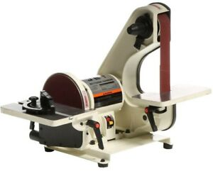 JET Benchtop Belt Disc Sander 8 34 HP 115-Volt Adjustable Dust Deflector Chute