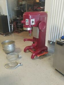 Hobart 60 Qt Mixer H600 With Bowl fresh Paint paddle 220v 3ph