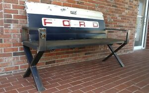 Ford Tailgate Bench Tail Gate Vintage Old Truck