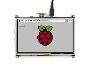 Waveshare Raspberry Pi Lcd Display Module 5inch 800480 Tft Resistive Touch Scree