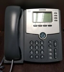 Cisco Spa514g 4 Line Ip Phone gigabit Ethernet With Poe