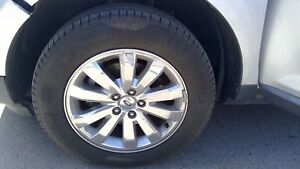 Set Of 4 Nice Wheels And Tires P245 60r18 Ford Edge 07 08 09 10