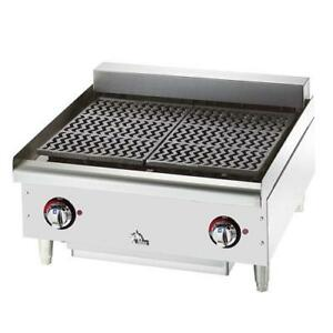 Star 5124cf 24 In Star max Electric Charbroiler