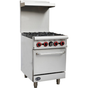 Saba Air 24 Gas Range With Oven sb gr24 8517 n