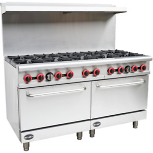 Saba Air 60 Gas Range With Double Oven sb gr60 G24 Gs24 8517 n