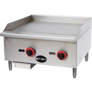 Saba Air 24 Gas Manual Griddle sb mg24 8517 n