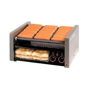 Star 50scbbc Grill max Pro 50 Hot Dog Roller Grill W Clear Door