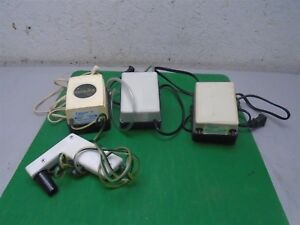 3 Pipet aid Vacuum Pumps 2 falcon 1 drummond Used Working