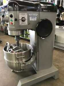 Refurbished Hobart H 600 60 Qt Mixer W Flat Beater Hook Whip