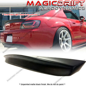 For 00 09 Honda S2000 Ap1 Ap2 Asm Style Rear Trunk Spoiler Wing Deck Ducktail