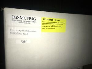 Nib Honeywell Igsmcfp4g Gsm internet Commercial Fire 4g Communicator